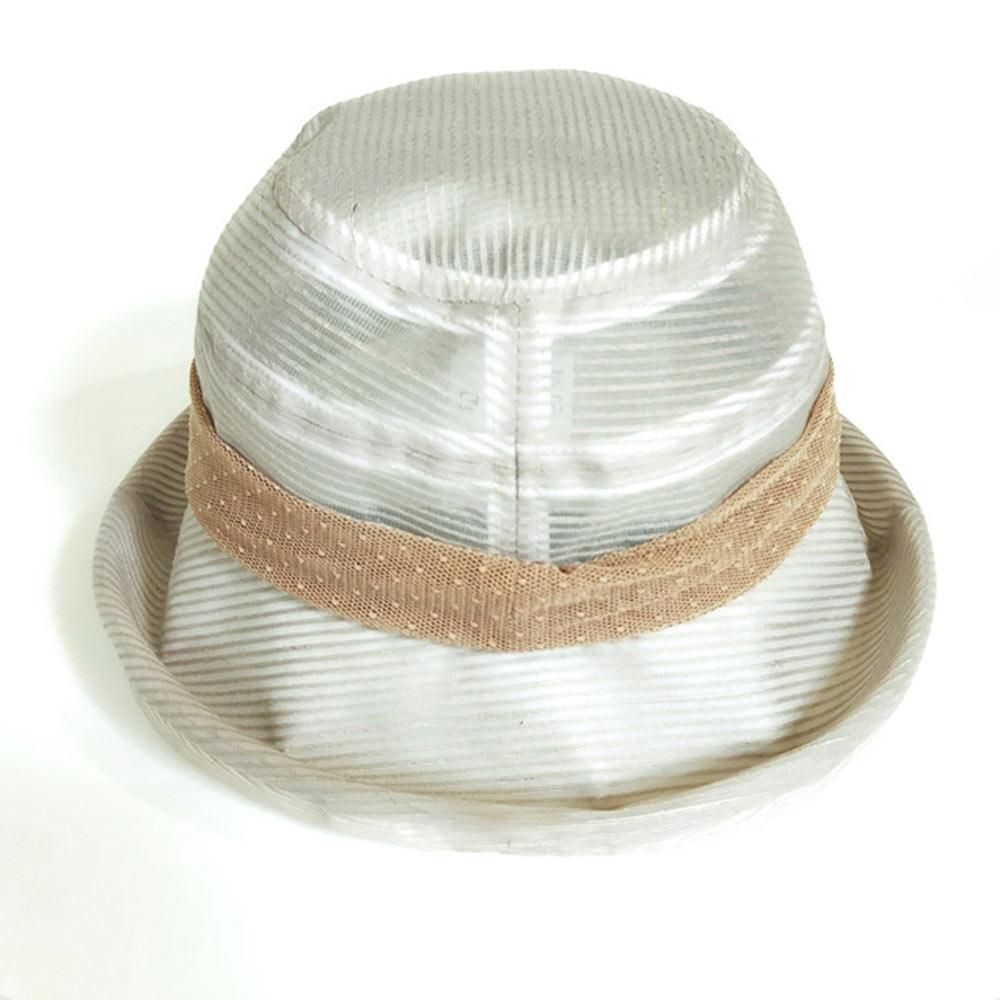 ELLE法式優雅極簡風遮陽時尚布帽-日本越前織_卡其/咖/黑