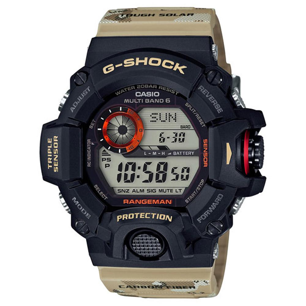 G-SHOCK 絕對強悍沙漠迷彩電波軍事運動錶(GW-9400DCJ-1)-53.5mm @ Y!購物