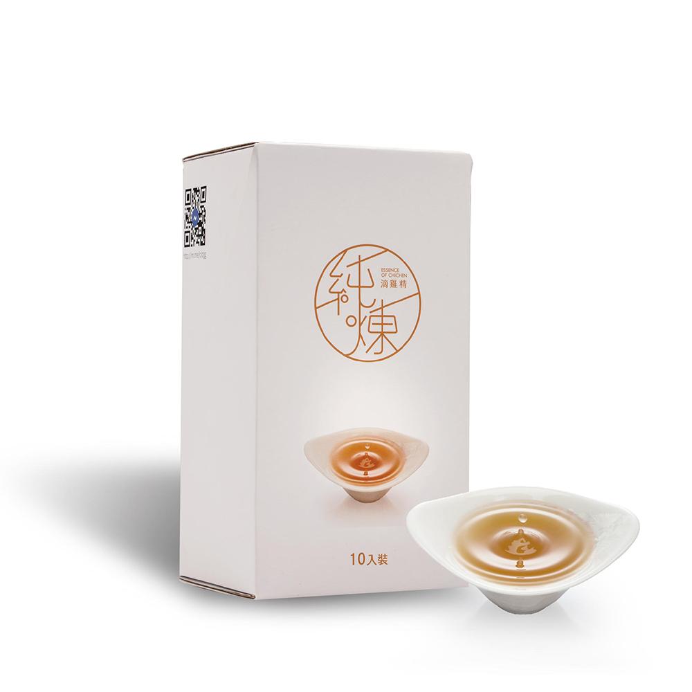 寶島手路菜 純煉滴雞精 1盒 ( 60mg X 10包)