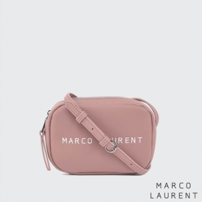 MARCO LAURENT Ice Cream 迷你刺繡肩背包 - 玫瑰粉