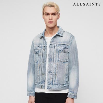ALLSAINTS IMOKU 復古刷色棉質牛仔外套