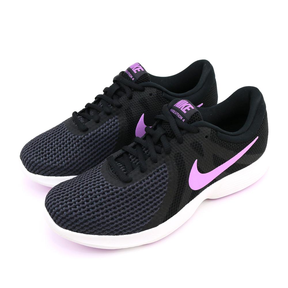 NIKE REVOLUTION 4 女慢跑鞋 908999011 黑紫