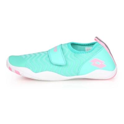 LOTTO 兒童多功能水陸鞋 粉綠粉紅