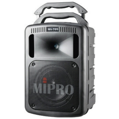 MIPRO MA-709送原廠防塵套(MA-708升級版豪華型手提移動式無線擴音機)