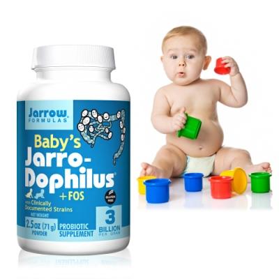 Jarrow賈羅公式 嬰幼兒專用全效六益菌粉(71g/瓶)