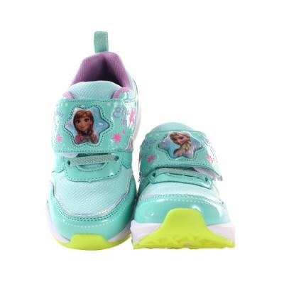 魔法Baby 女童鞋 迪士尼冰雪奇緣正版閃燈運動鞋 電燈鞋  sa15005