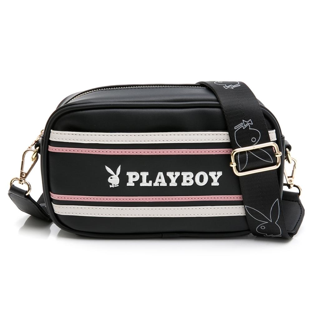 PLAYBOY-  斜背包 美學系列 -黑色