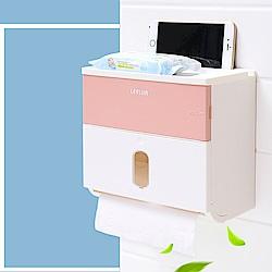 日創優品 衛生紙大容量雙層防水面紙盒-4色任選