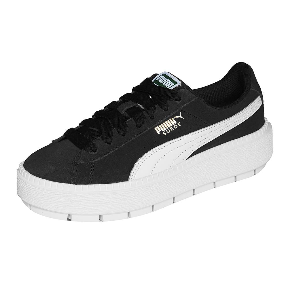 PUMA-Platform Trace Wns MU女休閒鞋-黑色