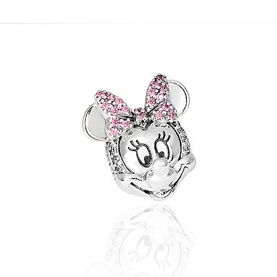 Pandora 潘朵拉 迪士尼系列 魅力閃耀米妮鑲鋯 純銀墜飾 串珠