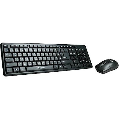 KINYO PS/2鍵盤+USB滑鼠組KBM-350