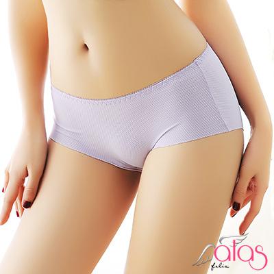 無痕內褲 透氣洞孔冰絲女性內褲 (紫色) alas