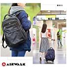 【AIRWALK】旅行拉車後背包-共兩色
