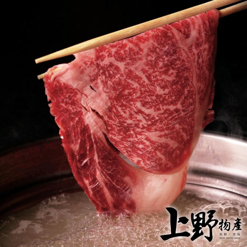 【上野物產】美國低脂沙朗燒烤火鍋肉片(500g±10%/盤)x6盤