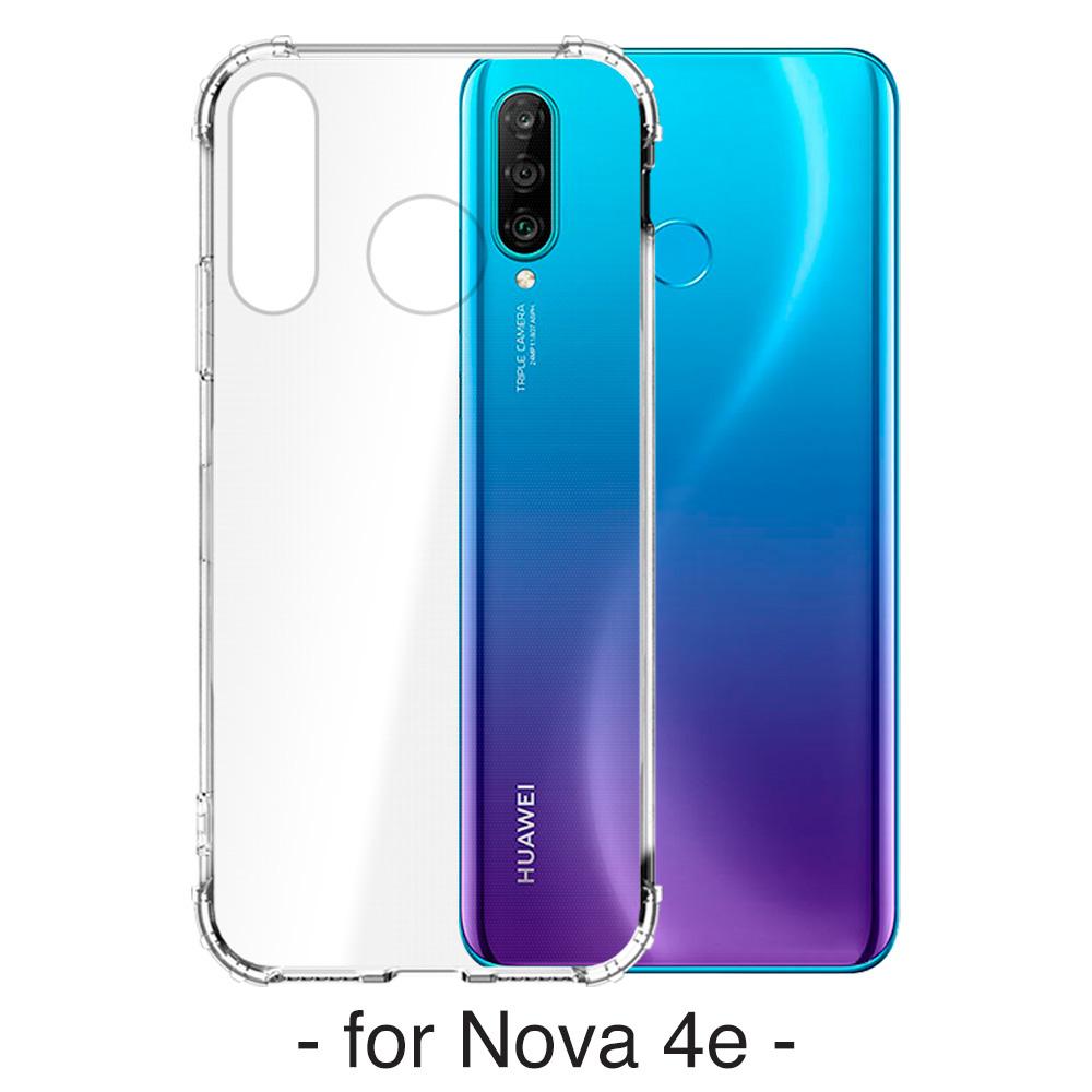 【YADI】華為 HUAWEI Nova 4e/6.4吋手機保護殼/空壓殼/軍規認證