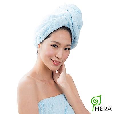 HERA  3 M專利瞬吸快乾抗菌超柔纖浴帽-晴空藍