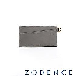 ZODENCE COMBO系列進口牛皮卡片夾 灰色