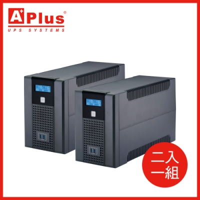 特優Aplus 在線互動式UPS Plus5L-US1000N(1000VA/600W)-兩入組