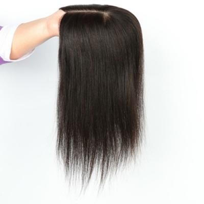 米蘭精品 假髮片真髮絲-短直髮25cm隱形補髮片女假髮母親節禮物73us43