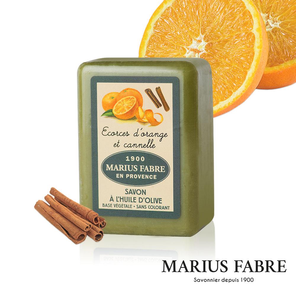 法國法鉑-天然草本甜橙橄欖皂-250g/顆