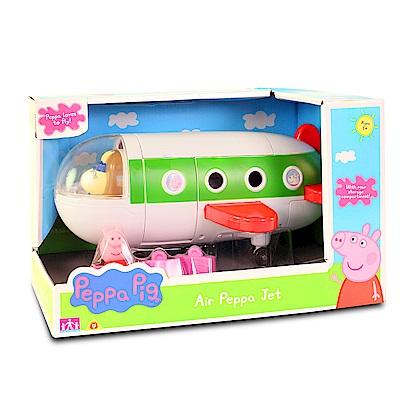 【麗嬰房】Peppa Pig 粉紅豬小妹-旅行飛機