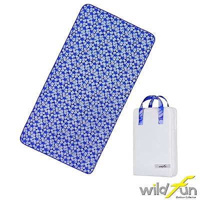 WildFun 300x75舖棉多功能前庭墊 蝶豆花