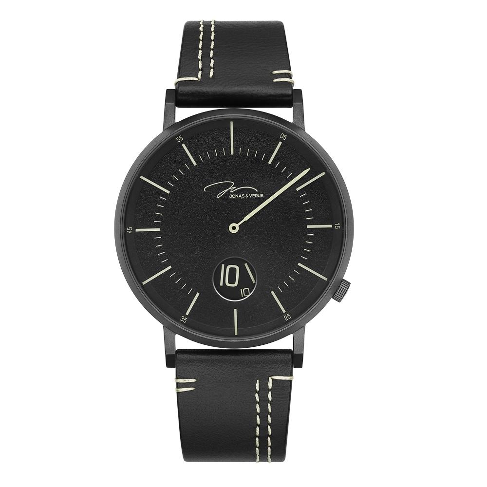 J&V 騎士系列皮帶腕錶41mm(Y02065-Q3.BBBLB)