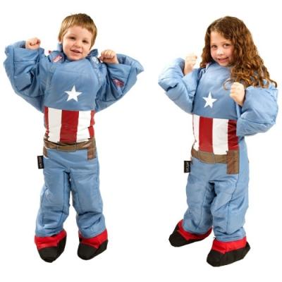 Selk Bag 神客睡袋人 MARVEL 英雄聯盟保暖睡袋 童 美國隊長 8°C