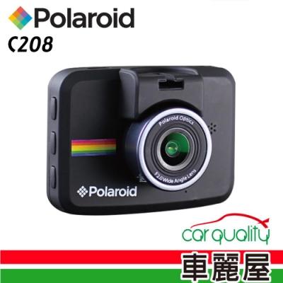 【Polaroid 寶麗萊】C208 2吋 1080P行車紀錄器 (內含16G記憶卡)