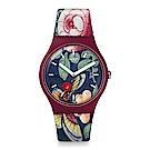 Swatch LADY BUZZ 跨界經典-浪漫瓢蟲手錶