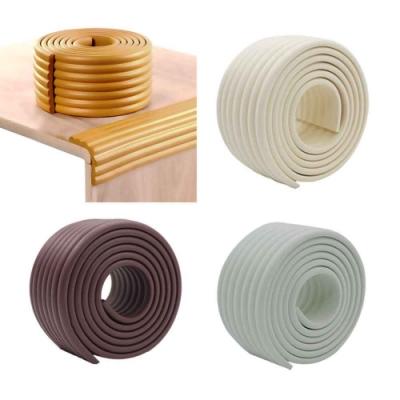 (1入)全膠免自黏 可自由裁剪加寬加厚防撞條 桌邊 牆面 樓梯 防撞護條 防護角 防撞角 保護邊條(2m)