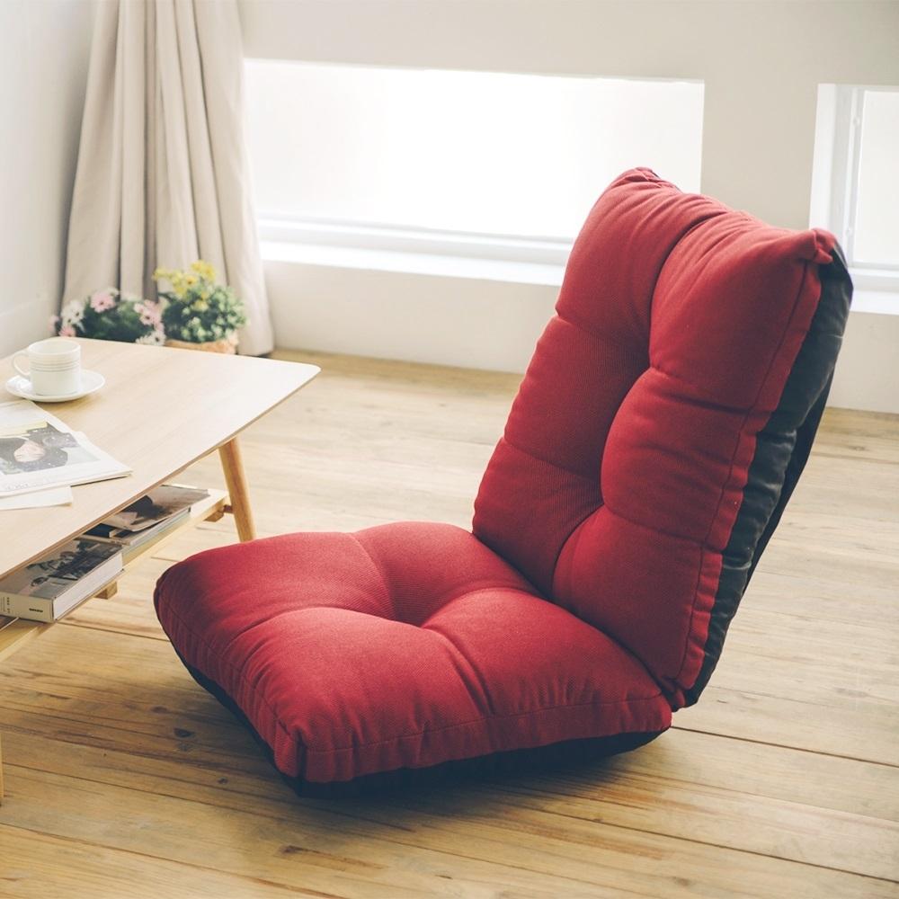 Home Feeling 韓系多功能折疊椅/和室椅/沙發床(2色)-60x50x62cm