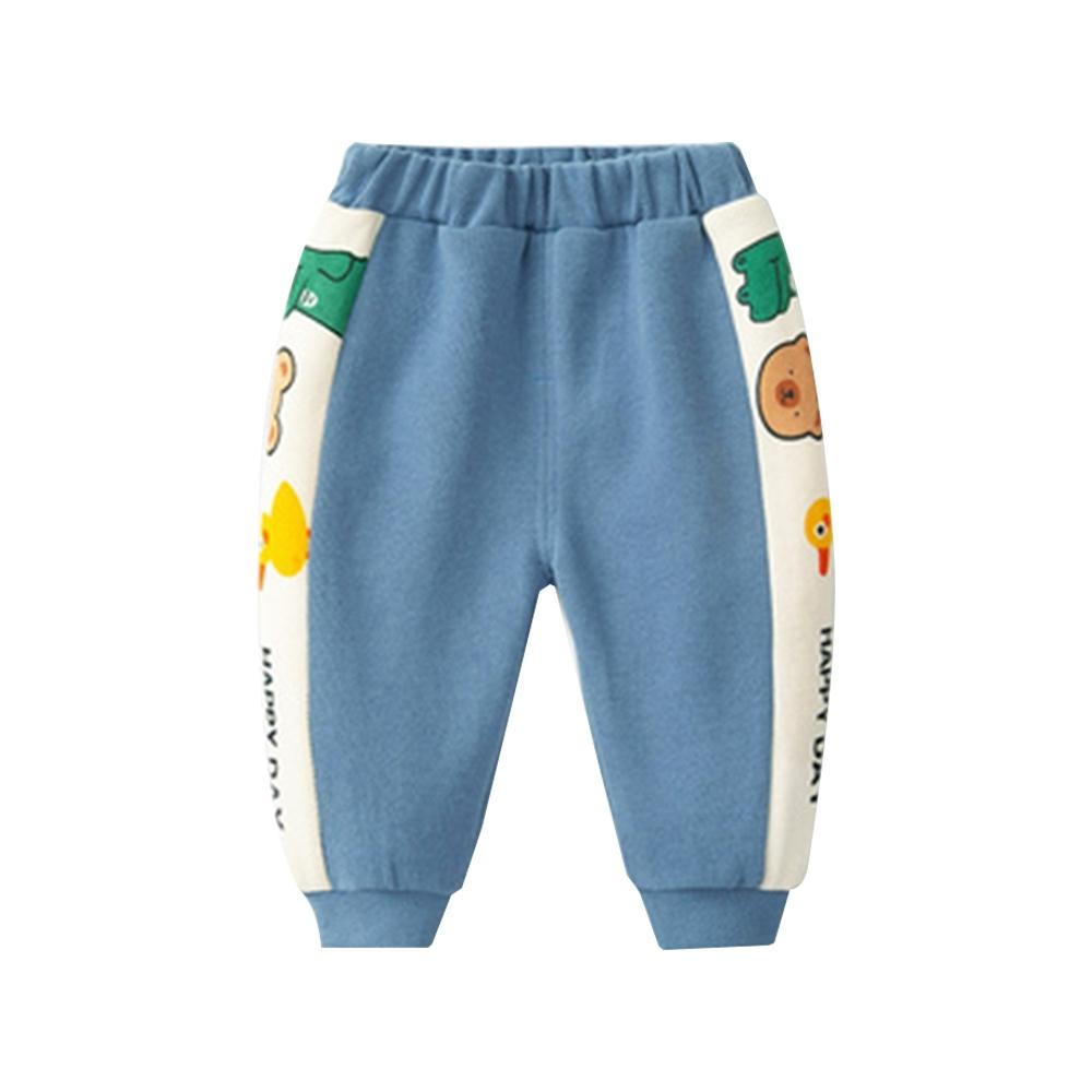 童裝 側邊條動物印花長褲 共二色 TATA KIDS product image 1