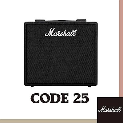 Marshall CODE25 電吉他音箱 / 內建效果藍芽功能 / 贈導線 公司貨保固
