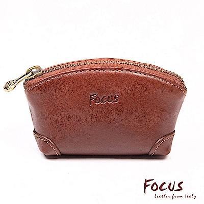 FOCUS經典原皮造型鑰匙零錢包(FTA0027)