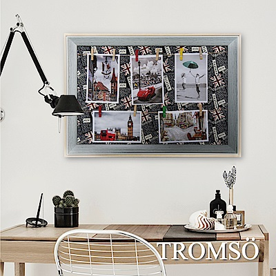 TROMSO質感生活 木夾子佈告欄照片框-倫敦旅程