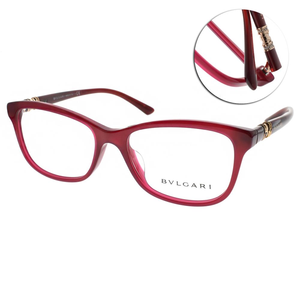 BVLGARI眼鏡 珠寶時尚/紅#BG4133BF 5333