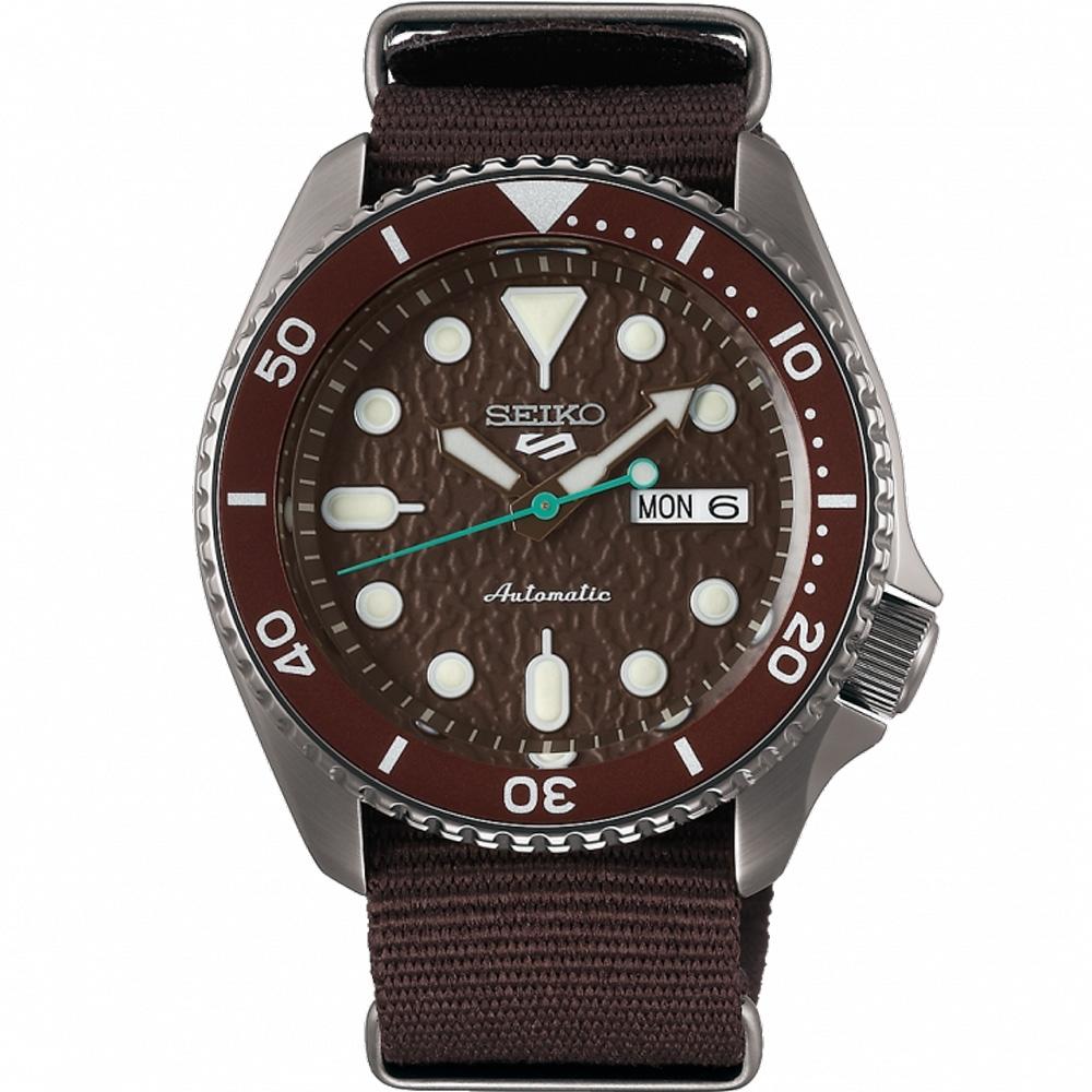 SEIKO 5 Sports 商務型男運動機械錶(SRPD85K1)42mm