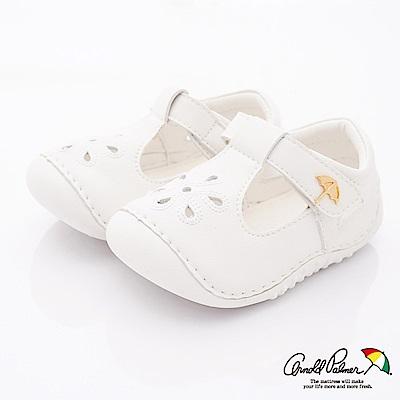 雨傘牌 護趾軟軟學步鞋款 EI93251白(寶寶段)