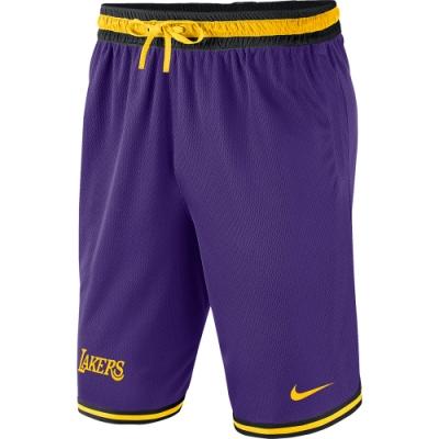 NIKE 運動 健身 籃球 短褲 NBA 湖人 紫 男款 AV3537504 AS LAL M NK SHORT DNA ST