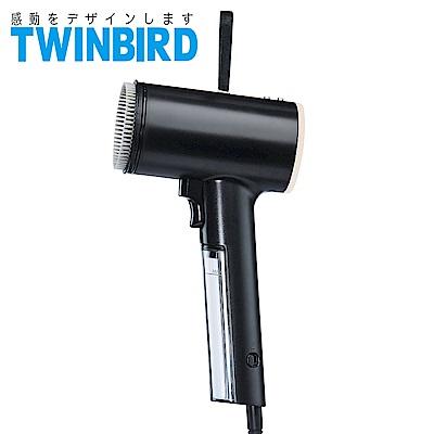 日本TWINBIRD-美型蒸氣掛燙機(黑)TB-G006TWB