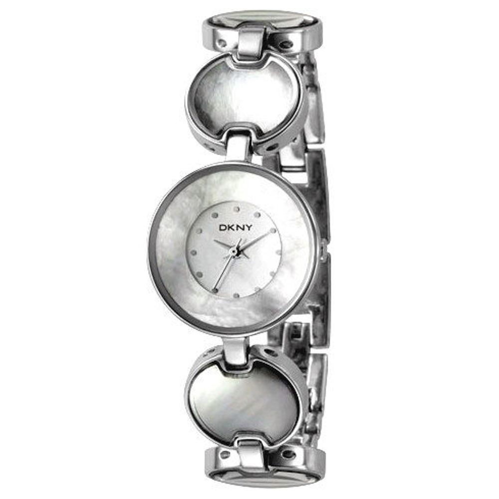 DKNY 魅力光輝時尚腕錶-銀-26mm