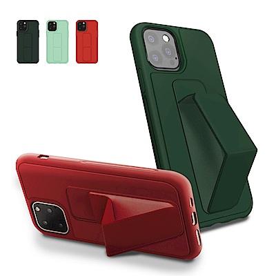 iPhone 12 Pro 立架 支架 強力磁吸 純色 手機殼 紅色 (iPhone12Pro手機殼 iPhone12Pro保護殼 )