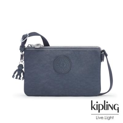 Kipling 復古海軍藍三夾層配件包-CREATIVITY XB