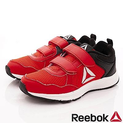 Reebok頂級童鞋 經典雙絆帶運動鞋款 EI584紅(中小童段)