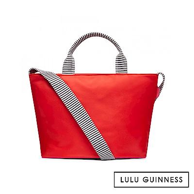 LULU GUINNESS LOLA 手提/側背包-小 (紅)