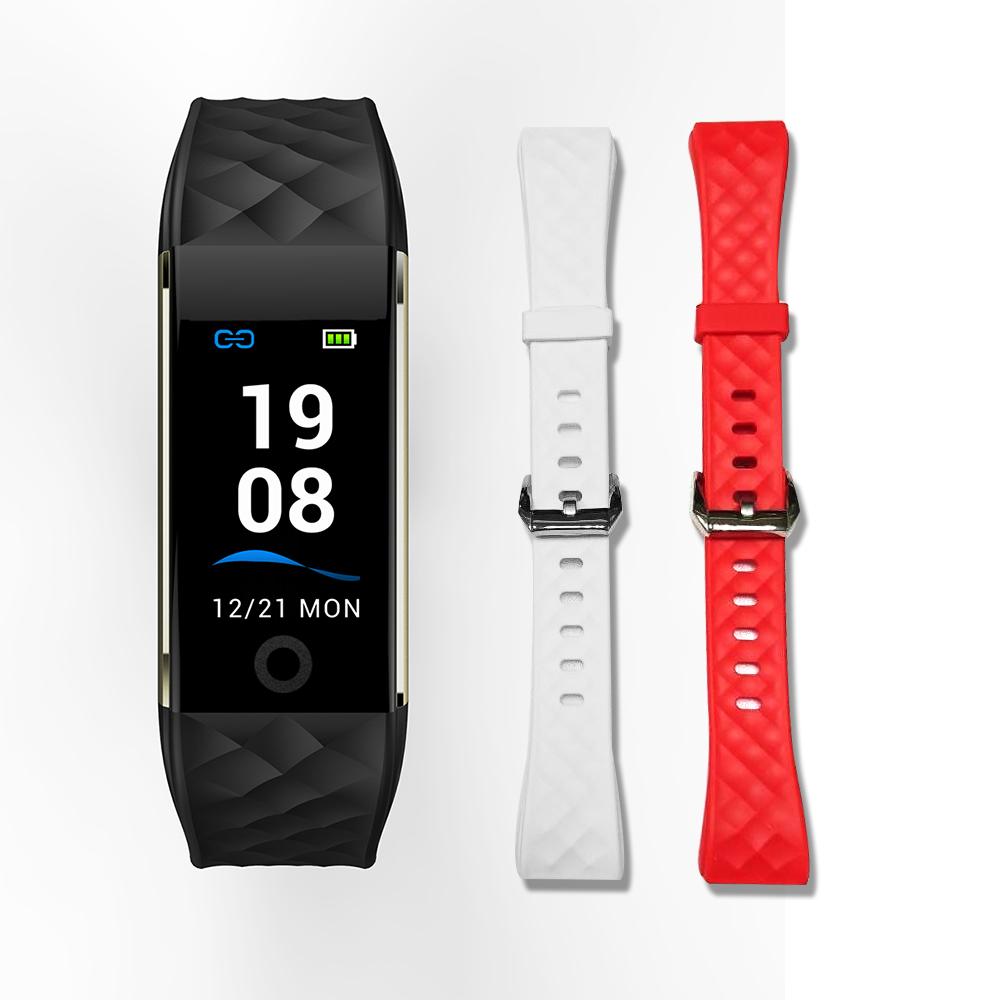 S6 旗艦級彩色螢幕觸控防水智慧手環(贈錶帶)