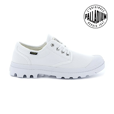 Palladium Pampa OX ORIGINALE慢跑鞋-男-白