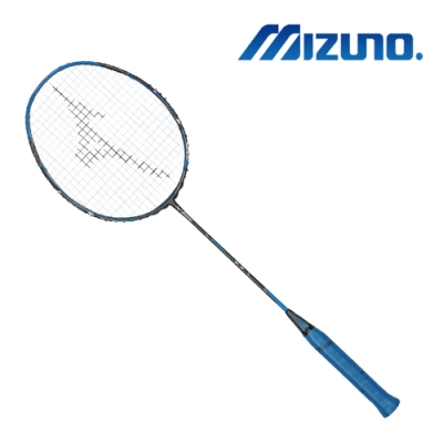 Mizuno SPEEDFLEX 7.7 羽球拍 鐵灰藍x黑 73MTB90401