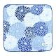 日本丸真 SOU SOU 京都新和風紗布純棉小方巾 花漾菊(共三色)